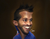 Cartoon: Rafael van der Vaart (small) by Quidebie tagged rafael,van,der,vaart,voetbal,holland,nederlands,elftal,spurs,ajax,soccer,caricature,karikatuur,fun,funny