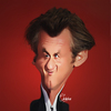 Cartoon: Sean Penn (small) by Quidebie tagged sean,penn,caricature,karikatuur,movie,star,funny,fun