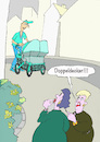 Cartoon: Doppeldecker (small) by sobecartoons tagged familie,kinder,fruchtbar,vater,ausfahrt,stolz,zwillinge