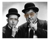 Cartoon: I really like Laurel and Hardy (small) by Atilla Atala tagged laurel,hardy,humor,joke,fun,toonpool,criticism