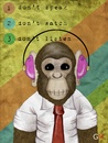 Cartoon: The good monkey (small) by gianluca tagged monkey