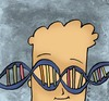 Cartoon: DNA (small) by alexfalcocartoons tagged dna