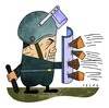 Cartoon: Riots in Egypt (small) by alexfalcocartoons tagged riots,egypt