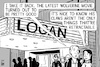 Cartoon: Logan movie (small) by sinann tagged logan,wolverine,retractable,claws