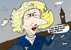 Cartoon: Maggie Thatcher caricature (small) by BinaryOptions tagged margaret,thatcher,maggie,baroness,prime,minister,posthumous,binary,option,options,news,caricature,optionsclick,trade,fiscal,torry,pm,political,politician,cartoon,webcomic,iron,lady,rust,peace