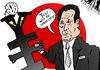 Cartoon: Minister Amari vs The Yen (small) by BinaryOptions tagged optionsclick,binary,option,options,trade,trader,trading,news,finance,financial,economic,amari,minister,jpy,japanese,japan,yen,caricature,cartoon,comic,webcomic,editorial,fiscal,policy,politics