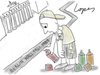 Cartoon: Graffiti Perspective (small) by Lopes tagged berlin,wall,graffiti,art