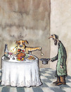 Cartoon: Beggar (small) by Ridha Ridha tagged beggar,page,from,ridha,ironical,book,the,dog,as,fellow,man,der,hund,als,mitmensch,which,was,published,1989,in,germany
