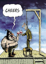 Cartoon: Cheers (small) by Ridha Ridha tagged cheers,cartoon,by,ridha