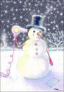 Cartoon: Suicide of a Snowman (small) by Ridha Ridha tagged suicide of snowman black humor cartoon by ridha