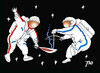 Cartoon: Olimpic torch in the Space (small) by tunin-s tagged torch