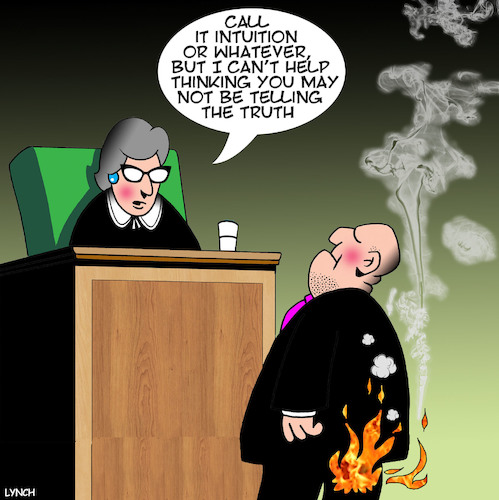 Cartoon: Liar liar (medium) by toons tagged pants,on,fire,liar,judge,defendant,courtroom,justice,untruth,alternative,facts,pants,on,fire,liar,judge,defendant,courtroom,justice,untruth,alternative,facts