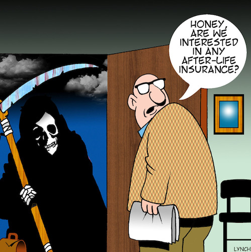 Cartoon: Life insurance (medium) by toons tagged angel,of,death,life,insurance,grim,reaper,afterlife,angel,of,death,life,insurance,grim,reaper,afterlife