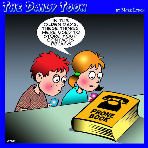 Cartoon: Phone book (medium) by toons tagged contacts,phone,book,yellow,pages,storage,contacts,phone,book,yellow,pages,storage
