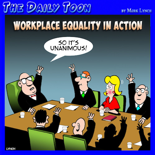Cartoon: Women in the workplace (medium) by toons tagged workplace,equality,boardroom,directors,boys,club,workplace,equality,boardroom,directors,boys,club
