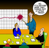 Cartoon: a little tricky (small) by toons tagged business,graph,boardroom,gfc