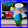 Cartoon: anti depressants (small) by toons tagged anti,depressants,cafe,feel,good,coffee,latte