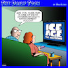 Cartoon: Attenborough documentary (small) by toons tagged environmental,documentary,david,attenborough,ice,age