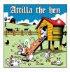 Cartoon: Attilla the hen (small) by toons tagged attilla,the,hun,farms,livestock,poultry,chickens,cows,rural,life,chooks