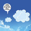 Cartoon: Cloud storage (small) by toons tagged cloud,storage,data,clouds,when,grow,up,types,offline