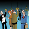 Cartoon: Commuter noose (small) by toons tagged commuters,travel,trains,buses
