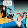 Cartoon: Dominatrix (small) by toons tagged work,from,home,bondage,dominatrix,whipping,kinky