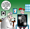 Cartoon: doner card (small) by toons tagged ray,organ,doner,will,terminal,illness