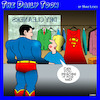 Cartoon: Dry cleaners (small) by toons tagged superman,dry,cleaning,capes