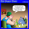 Cartoon: Emotional support pets (small) by toons tagged cats,pets,emotional,support