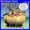 Cartoon: Flood insurance (small) by toons tagged noahs,ark,insurance,bible,stories,flood,animals