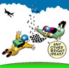 Cartoon: flying chessmen (small) by toons tagged chess,board,games,parachute,skydiving,aeroplane,cessna,bright,ideas,flying,aviation,airlines,master