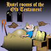 Cartoon: Gideons bible (small) by toons tagged hotel,room,bible,old,testament,ancient,rooms,ten,commandments,accommodation