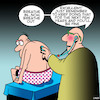 Cartoon: Good medical advice (small) by toons tagged breathing,medical,check,up,good,advice,ageing