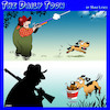 Cartoon: Hunting dog (small) by toons tagged hunting,chicken,bucket,nuggets,dogs
