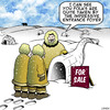 Cartoon: Impressive (small) by toons tagged real,estate,eskimos,arctic,houses,igloo