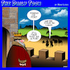 Cartoon: In Laws (small) by toons tagged castle,siege,famil,friend,or,foe