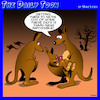Cartoon: Kangaroos (small) by toons tagged millennials,gen,living,at,home,kids,kangaroos,australia