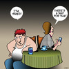 Cartoon: Latest app (small) by toons tagged apps,naps,sleep,tired,exhausted
