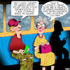 Cartoon: Manners (small) by toons tagged retro,manners,intelligence,heads,up