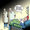 Cartoon: Medical bills (small) by toons tagged medical,bills,hospital,costs,surgeons,doctors