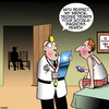 Cartoon: Medical diagnosis (small) by toons tagged google,search,medical,degree,amateur,doctor,health