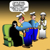 Cartoon: Missing persons (small) by toons tagged burqa,missing,person,burka,police,runaway,wife,kidnapping