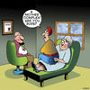 Cartoon: Mother complex (small) by toons tagged psychology,psychiatry,psychiatrist,shrink,psychologist,doctors,mother,complex