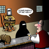 Cartoon: Ned Kelly (small) by toons tagged ned,kelly,burka,burqa,bushranger,outlaw,pick,up,lines,bars
