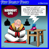 Cartoon: Nirvana (small) by toons tagged enlightenment,gps,systems,buddhism,nirvana