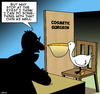 Cartoon: Pelican consultation (small) by toons tagged pelicans,cosmetic,surgeon,double,chin,birds,animals,botox,plastic,doctor,consultation