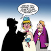 Cartoon: Plan B (small) by toons tagged plan,weddings,brides,groom,second,choice