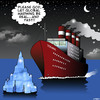 Cartoon: Please God (small) by toons tagged titanic,global,warming,melting,ice,caps