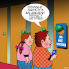 Cartoon: Privacy setting (small) by toons tagged do,not,disturb,privacy,settings,hotel,foyer,google,search,engines