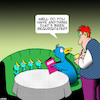 Cartoon: Regurgitated (small) by toons tagged regurgitated,bird,and,chicks,baby,waiters,animals